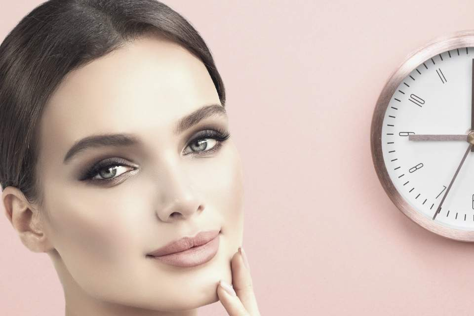 Skin changes during the day beauty sleep