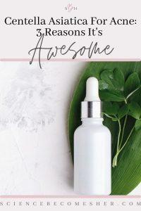 centella asiatica for acne